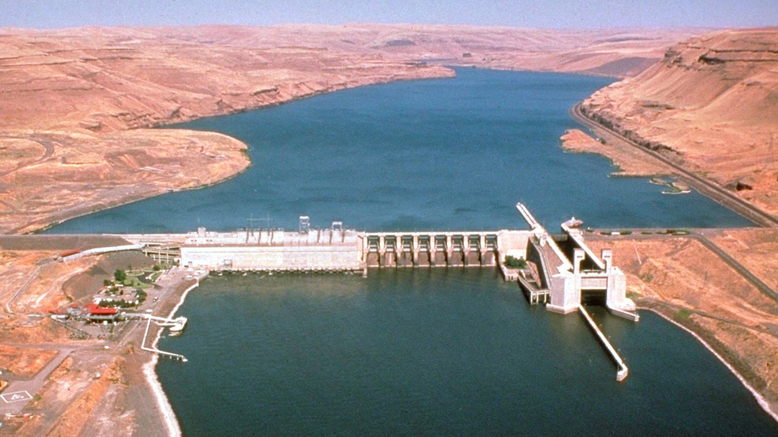 <h5>Salmon populations in the Puget Sound have dropped by 90 percent since the construction of the Lower Snake River dams.</h5><em>U.S. Army Corps of Engineers</em>